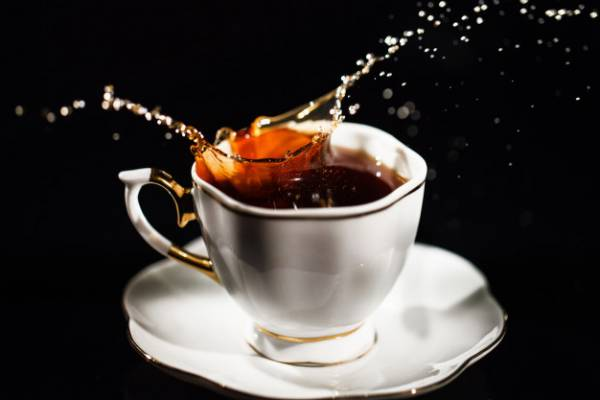 چای سیاه خوشمزه چابک و کبد چرب