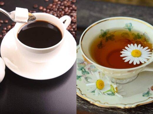 چای و قهوه و مزایای هرکدام از آنها